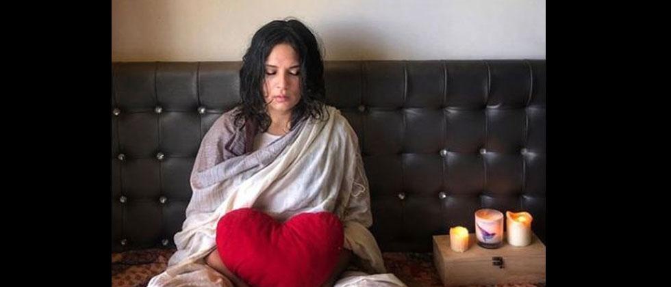 Lockdown diaries: Richa Chadha takes up meditation