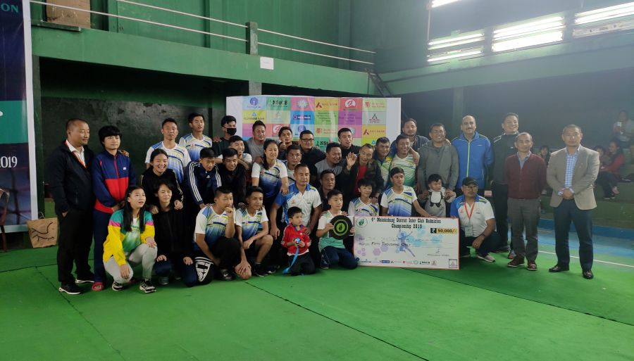 Shuttlers Chuchuyimpang 'B' win Mkg inter club badminton c'ship