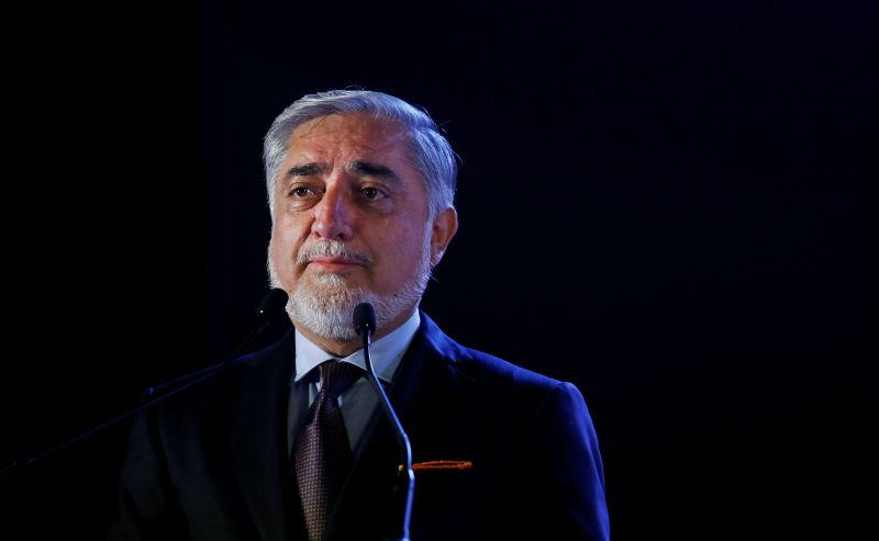 Top challenger of Afghan president says ready to quit elections for peace