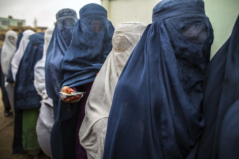 Votes for women? Not without facial recognition technology in Afghanistan
