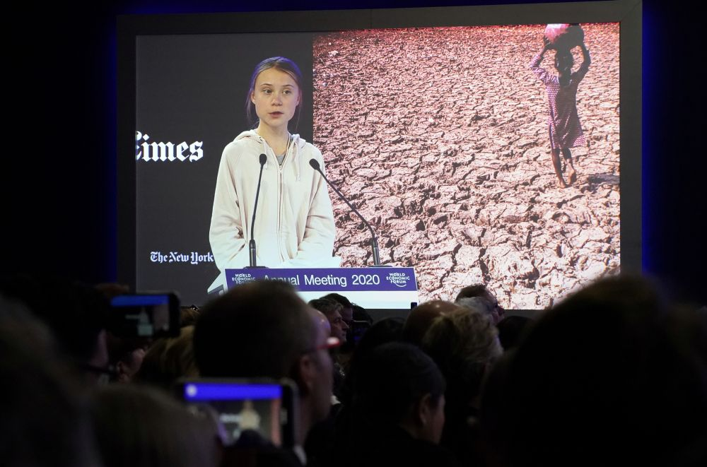 Thunberg v Trump: A trillion trees is 'not enough'
