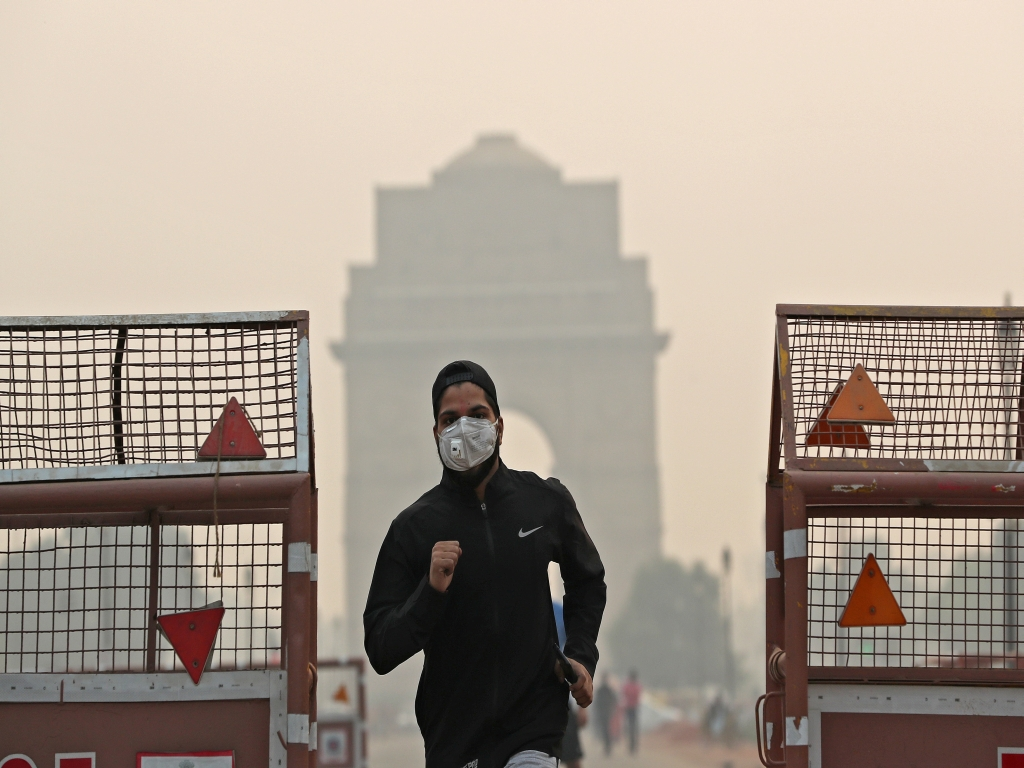 New Delhi is world's most polluted capital for second straight year: study