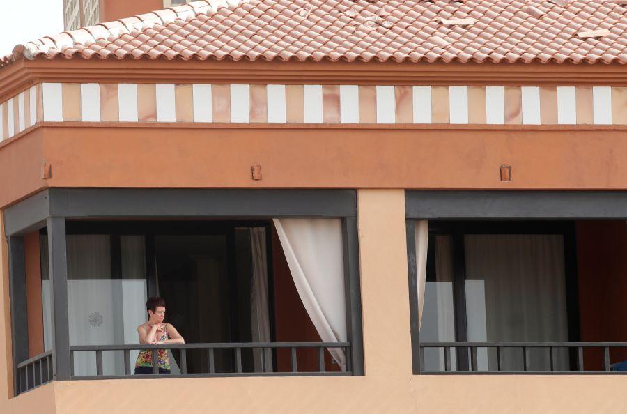 """We're fine but bored,"" says guest in Tenerife hotel in coronavirus lockdown"