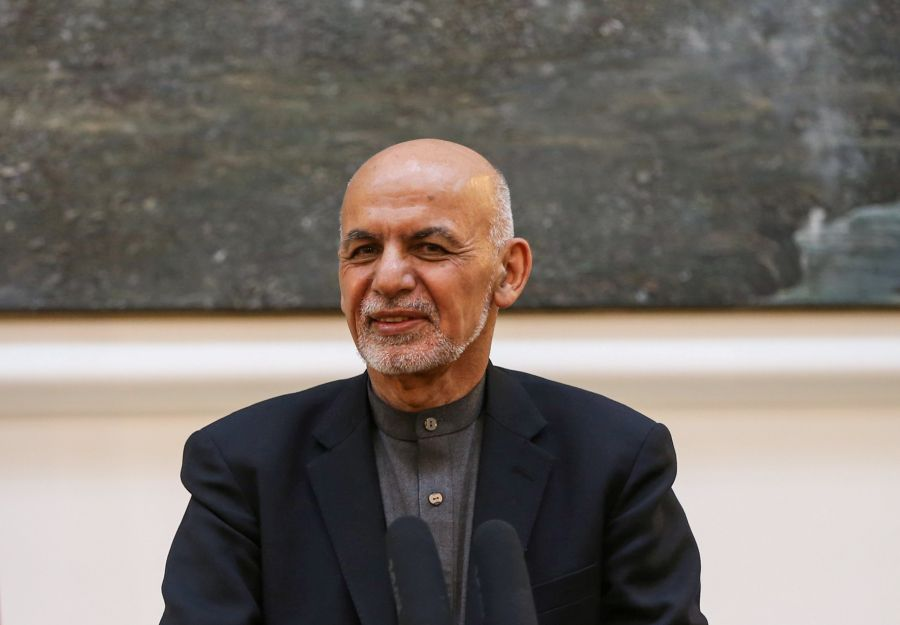 Afghan presidential palace cites coronavirus as cause for Ghani inauguration delay