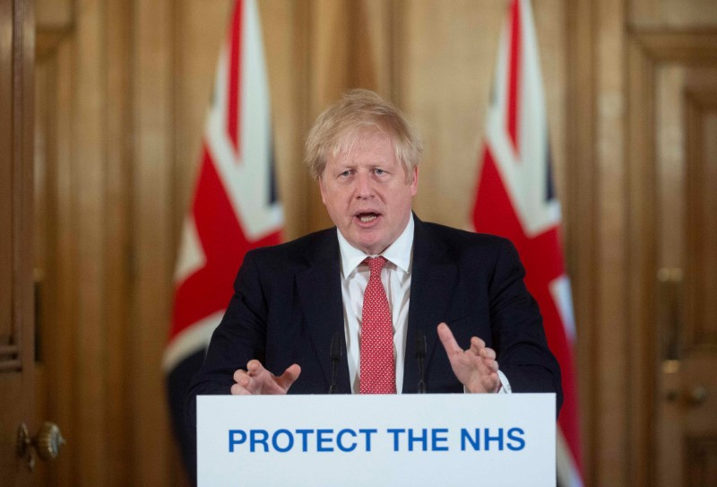 PM says Britain's NHS could be overwhelmed like Italy soon
