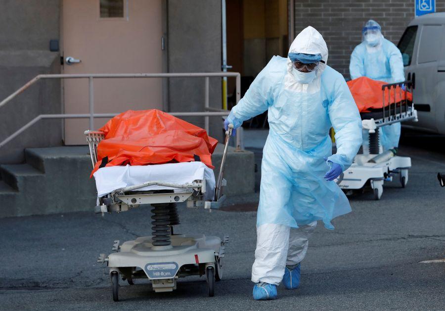 U.S. enters 'hardest, saddest' week in coronavirus crisis