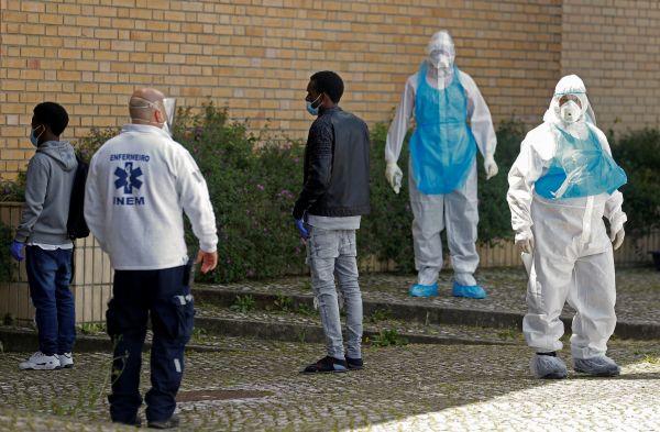 Coronavirus sweeps through Portuguese hostel housing asylum seekers