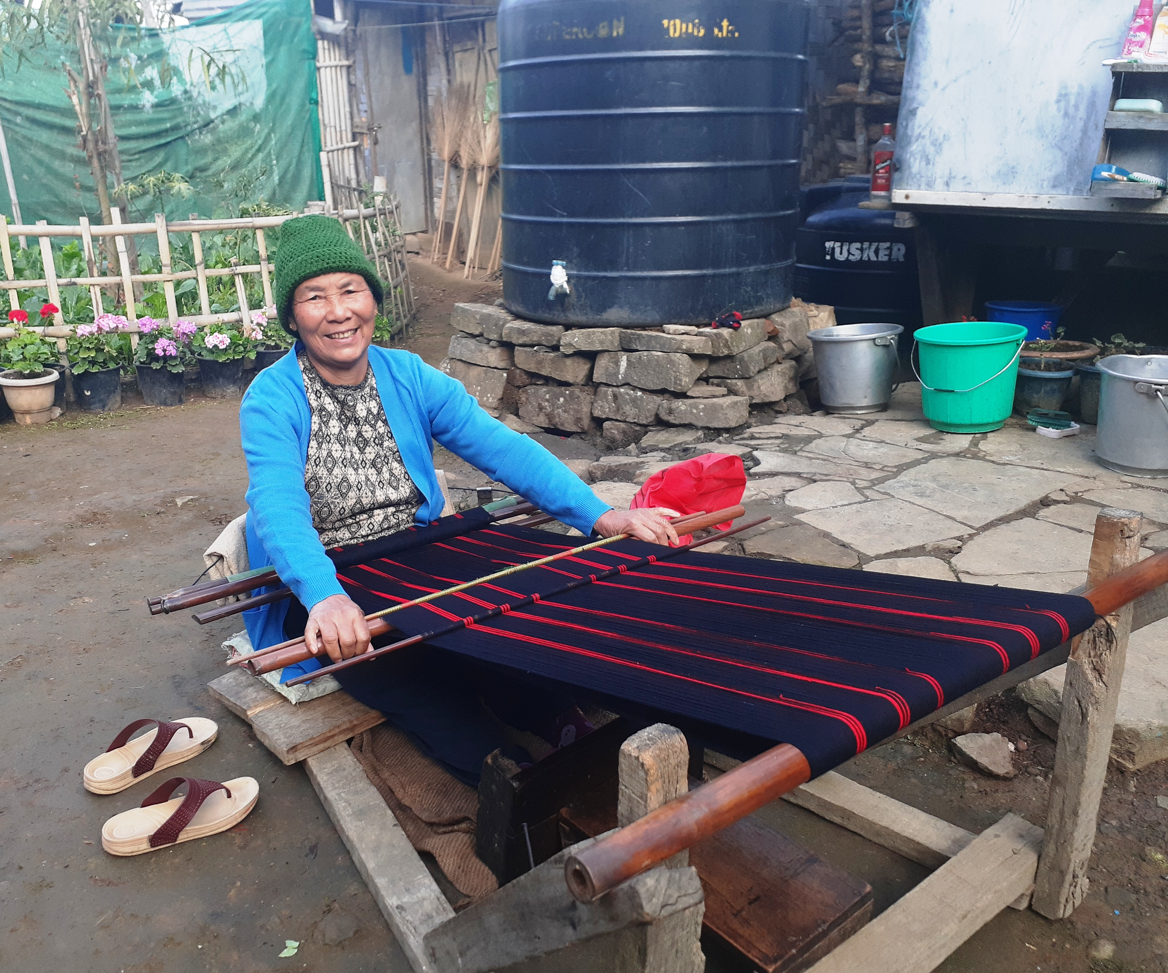 A 'Guru' and her love for weaving
