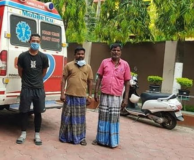 From Chennai to Aizawl: Man accompanies body of friend back home
