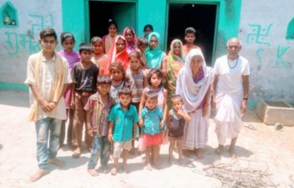 50-member family follows safety protocol in UP village