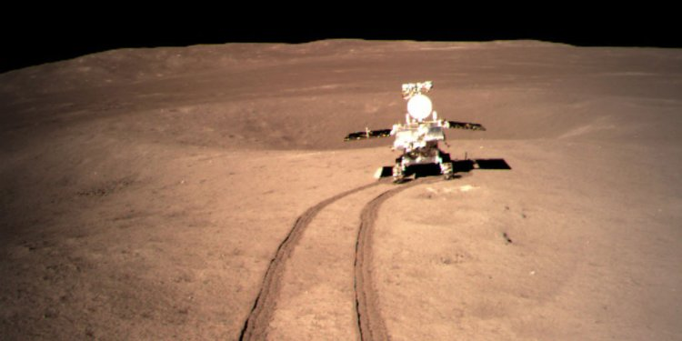 China's lunar rover finds mysterious substance on moon