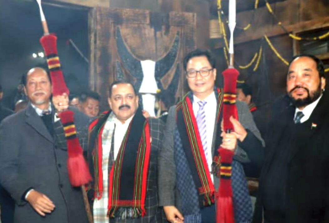 Union Ministers call Hornbill Fest symbol and torch bearer of NE