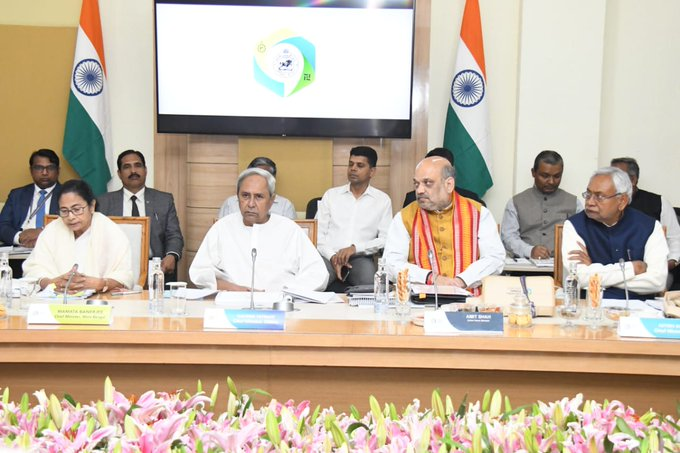 Bitter political rivals Shah, Mamata meet over lunch