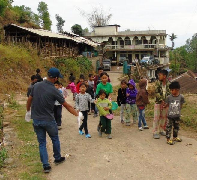 The Good Samaritan Project helping the needy in Mokokchung