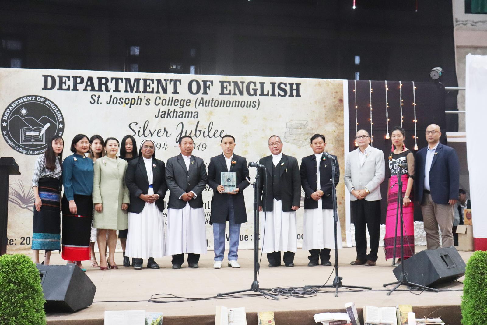 English dept of St. Joseph's College Jakhama celebrates silver jubilee
