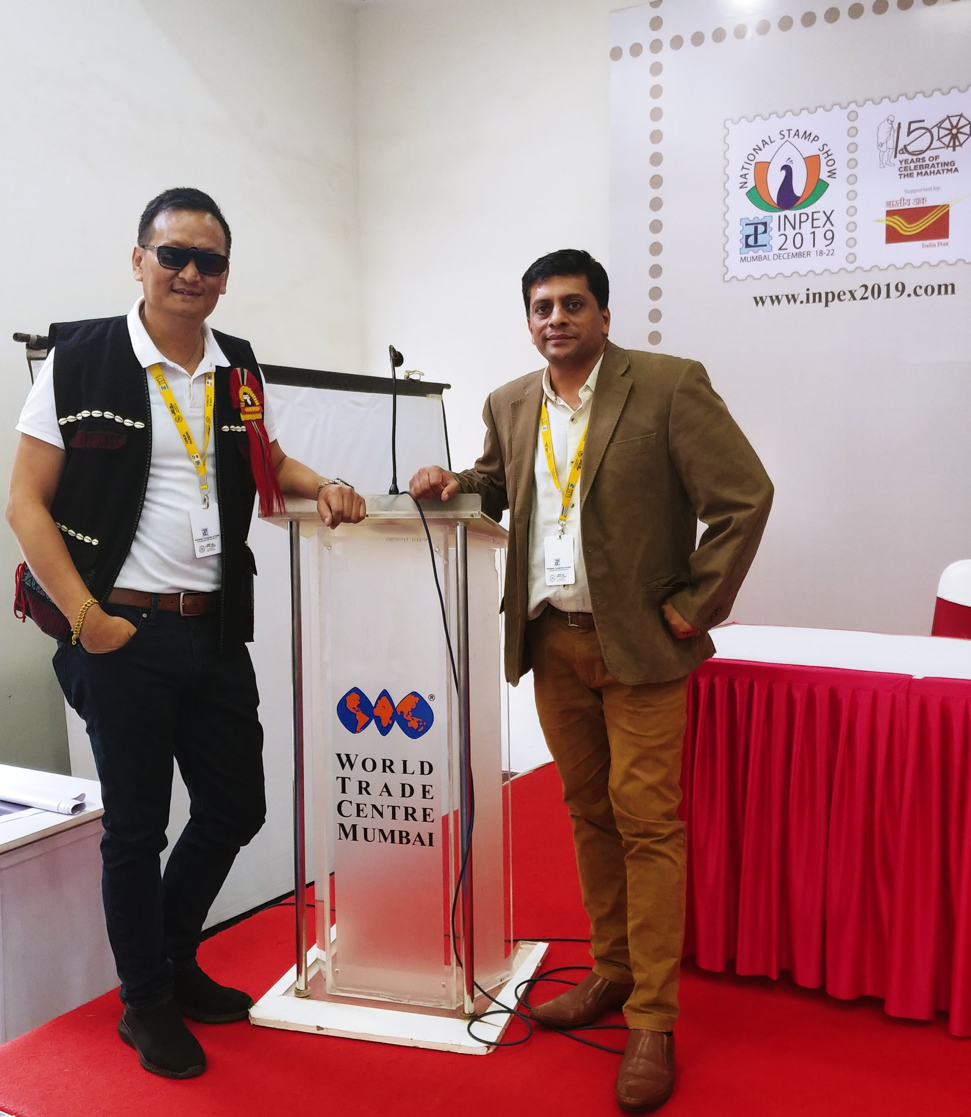 Nagaland philatelist wins  'Large Silver Award' at Inpex 2019