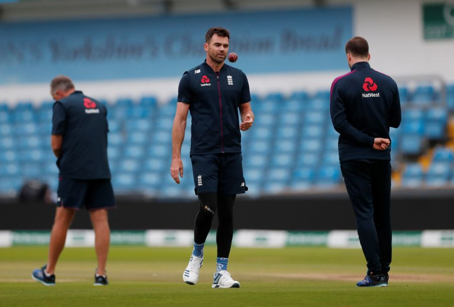 England's Anderson targets test return in New Zealand, South Africa