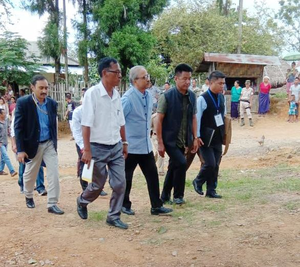 Central teams begin visit  of Eastern Nagaland areas