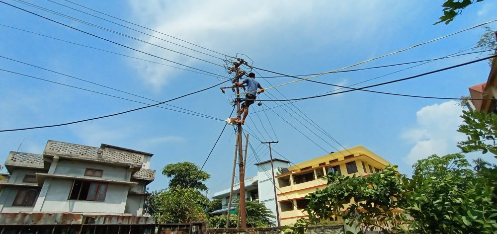 Nagaland: Electricity field workers to protest from Oct 3