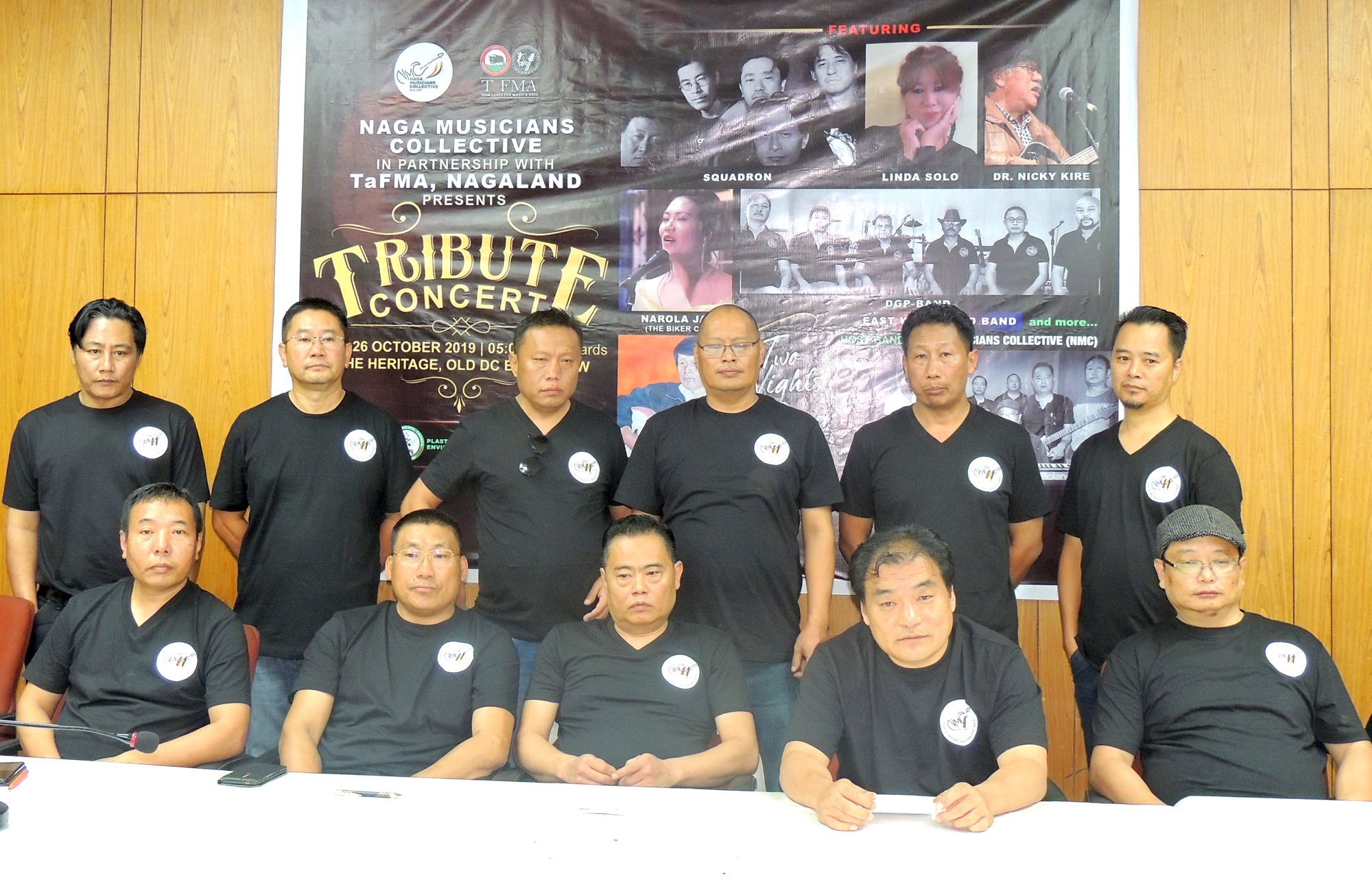 Naga Musicians Collective to present Tribute Concert