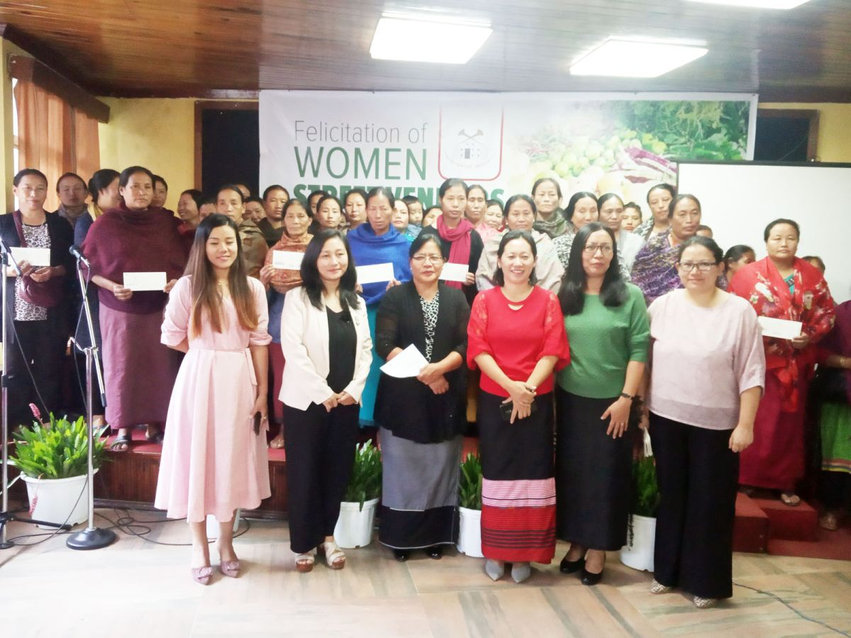 'Uplifting Women Street Vendors in Nagaland'