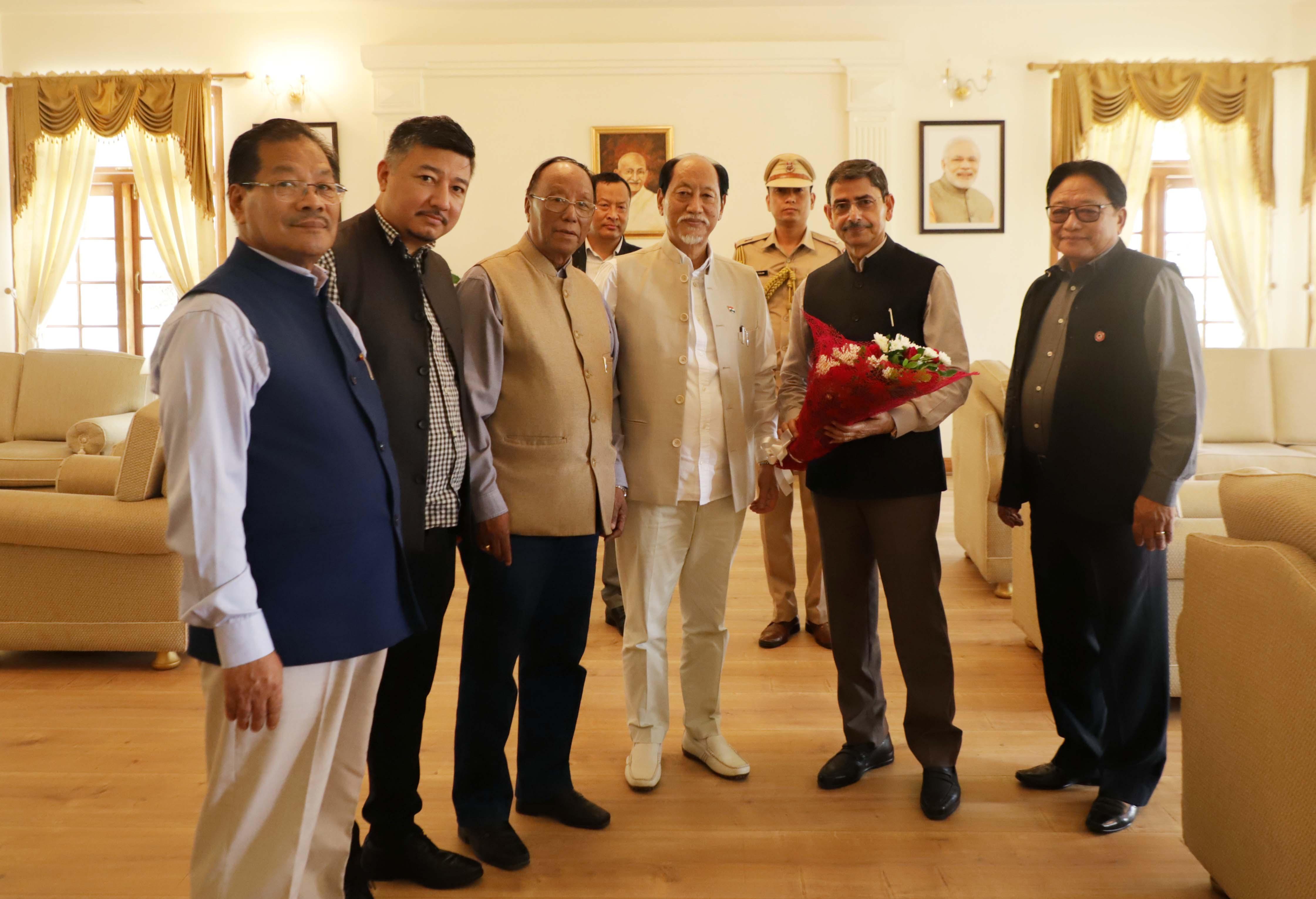 NDPP reiterates stand on Indo-Naga political dialogue