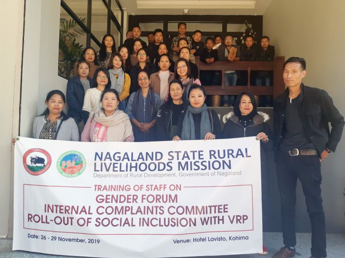 NSRLM supports effort for intervention  in gender issues and social inclusion