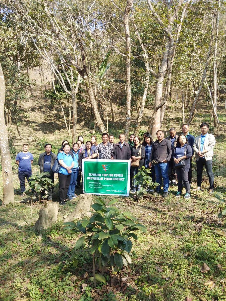 Peren coffee growers visit Tsiesema