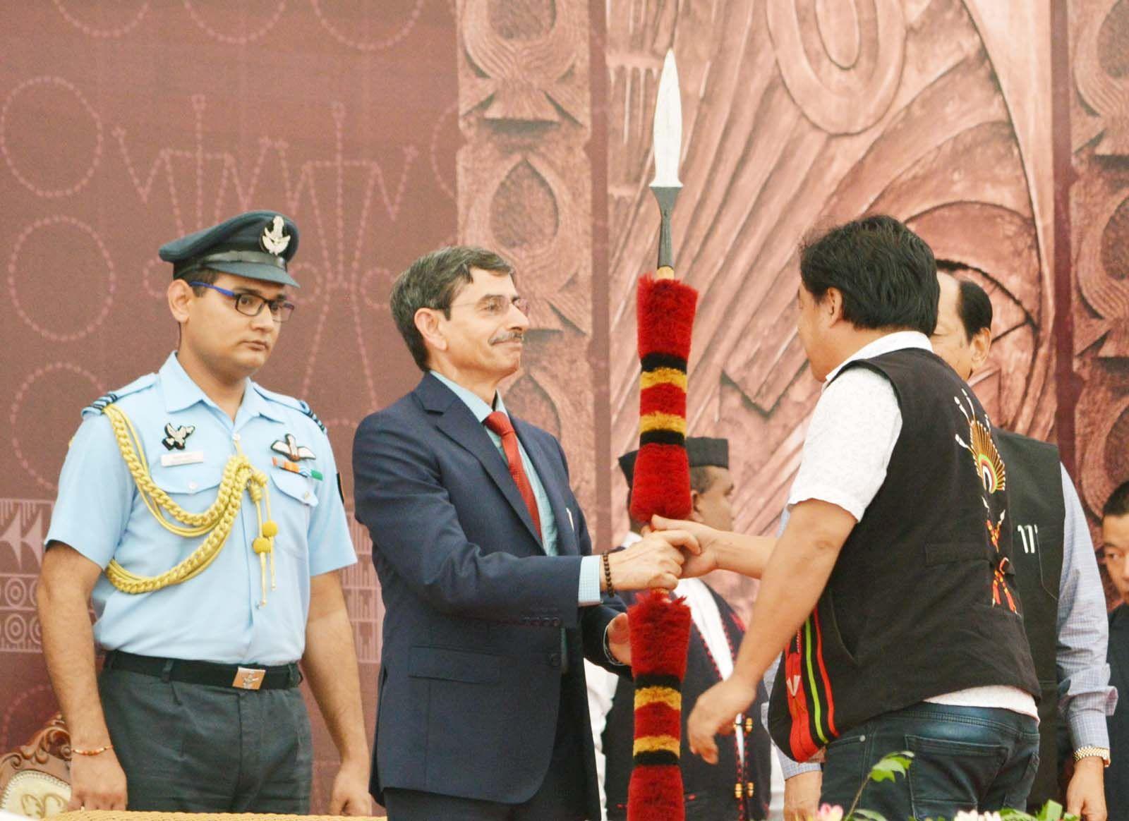Naga people deserve sunshine now: Governor | morungexpress com