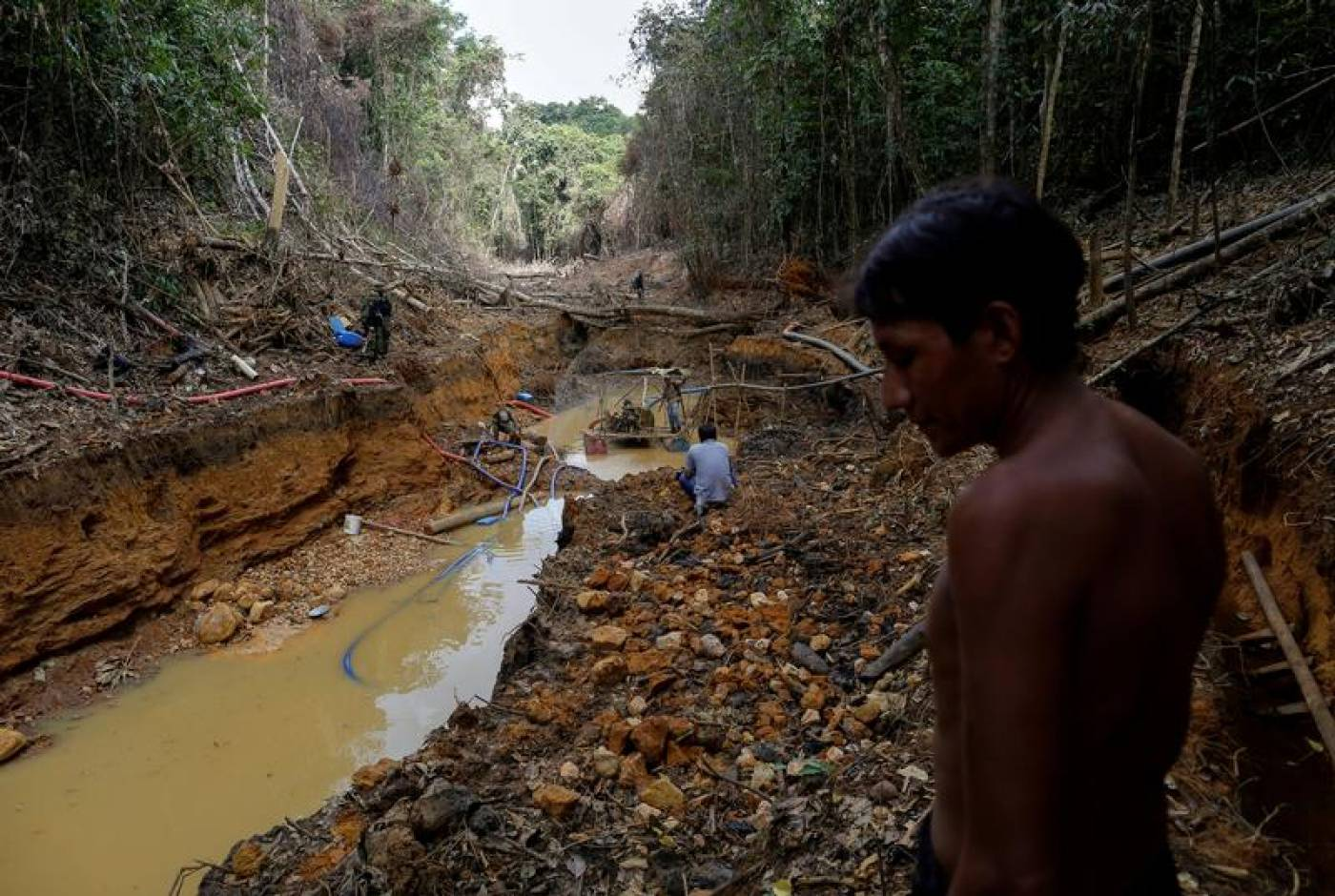 Amazon leaders demand illegal miners stay away to protect tribal lives