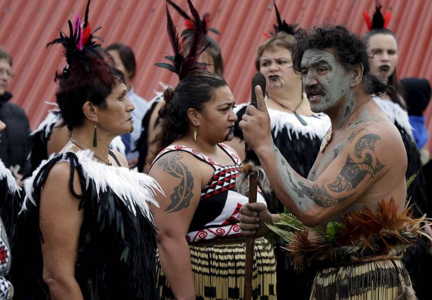Thousands occupy disputed land in New Zealand in M?ori rights protest