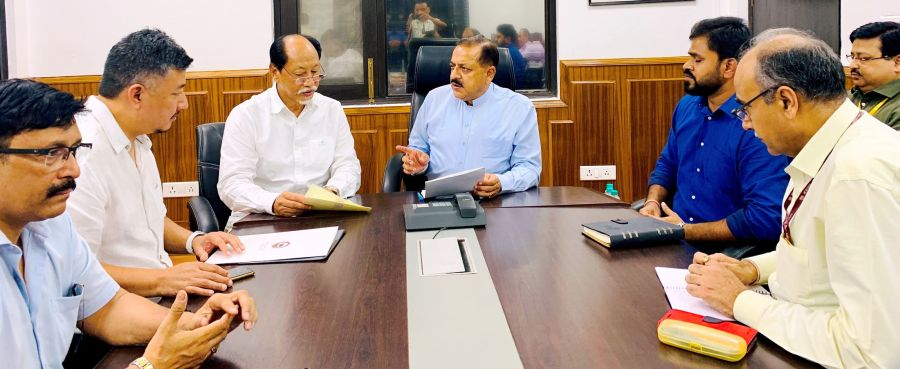 DoNER Ministry to partially fund  Ciethu greenfield airport in Kohima
