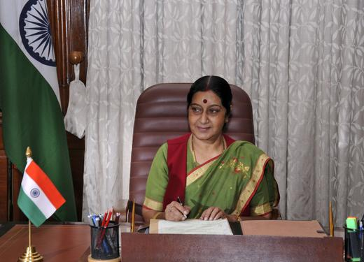 Sushma Swaraj, BJP, India