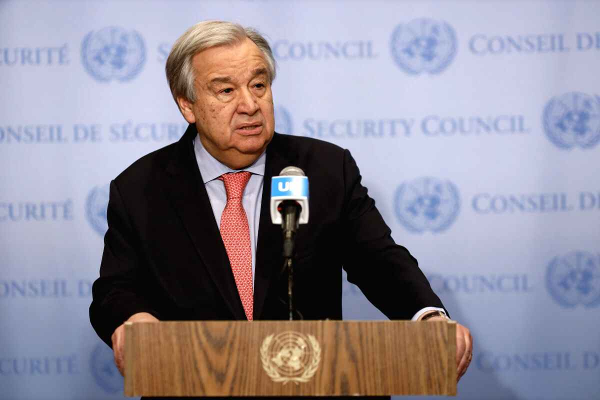 UN chief warns against retreat from climate action