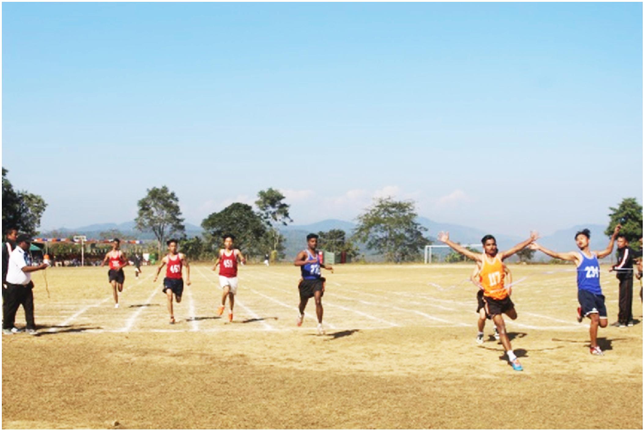 Sainik School Punglwa sports meet concludes