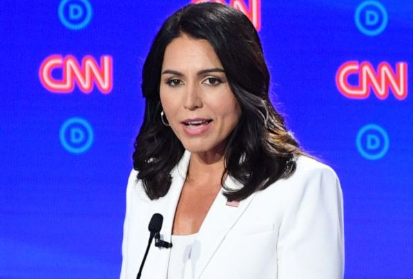 Gabbard dropped from Democratic presidential debate lineup