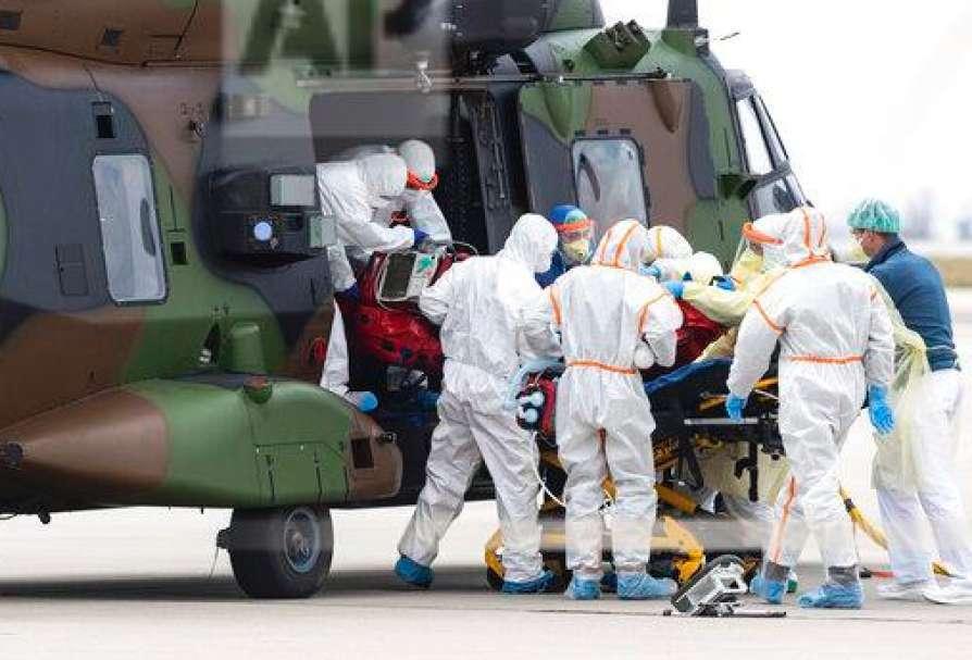France's coronavirus deaths top 8,000