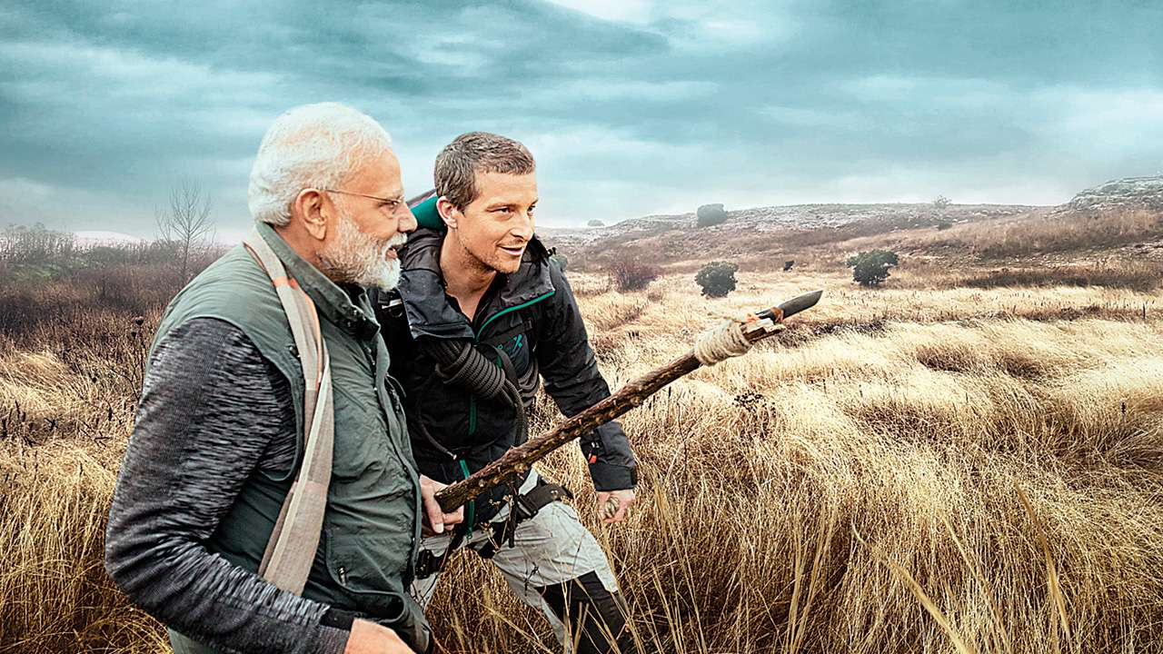 Remote translator helped while talking with Grylls: PM