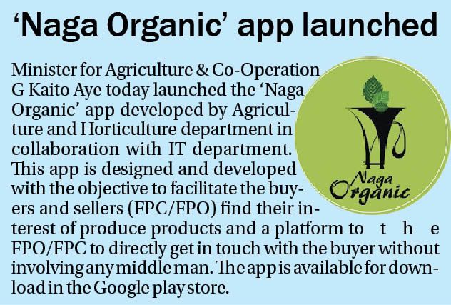 'Nagaland State Organic Policy' soon