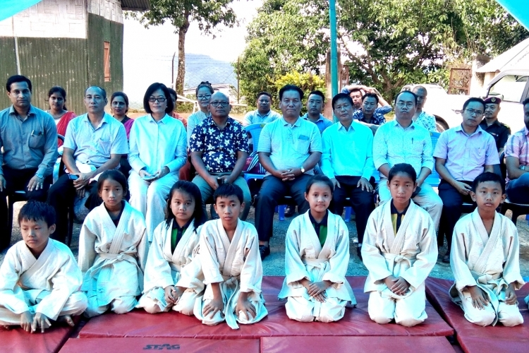 KV Lumami NU starts Judo classes