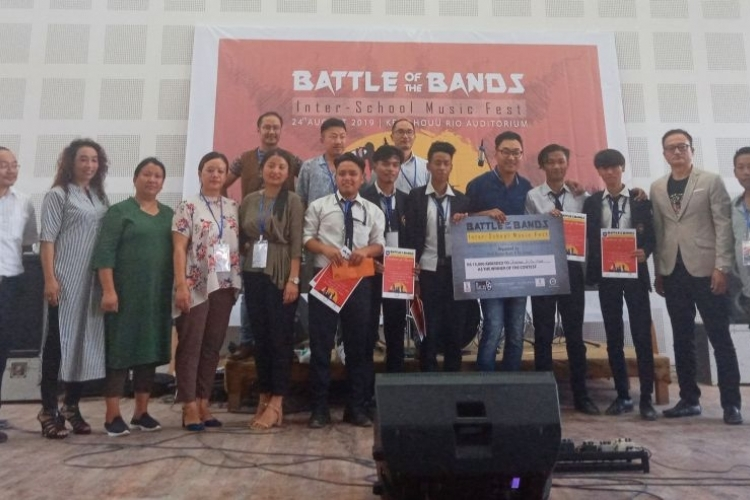 The One Timers wins 'Battle of the Bands'