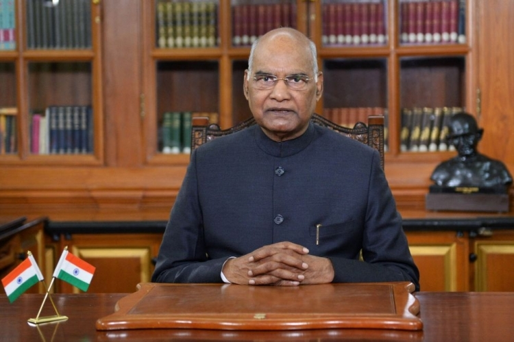 Remember Gandhi''s message of non-violence: President