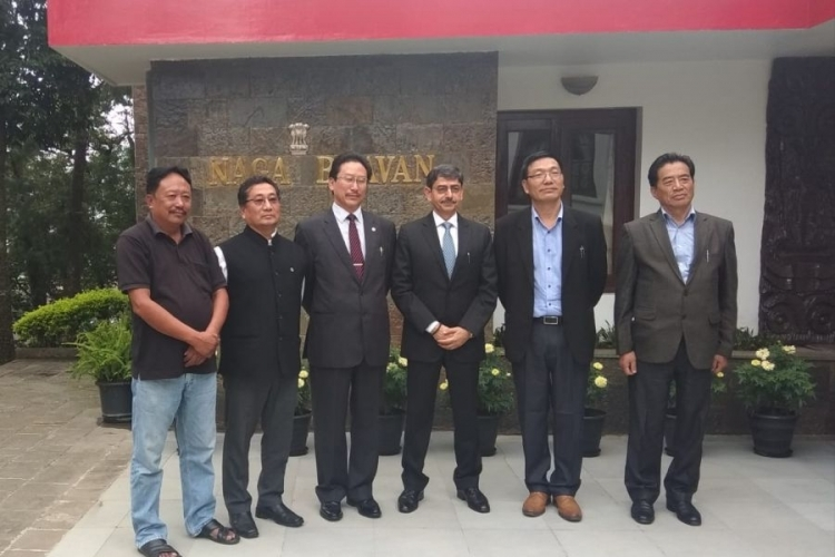 NPF delegation calls on Governor RN Ravi;  Reiterates stand on Naga political issue