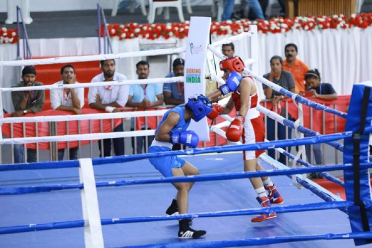 Railways dominate women's boxing nationals