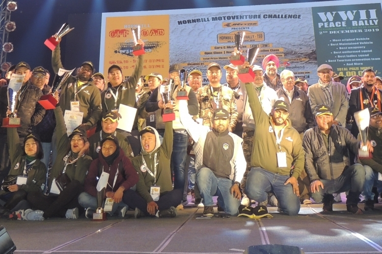 10th Hornbill Motor Rally concludes