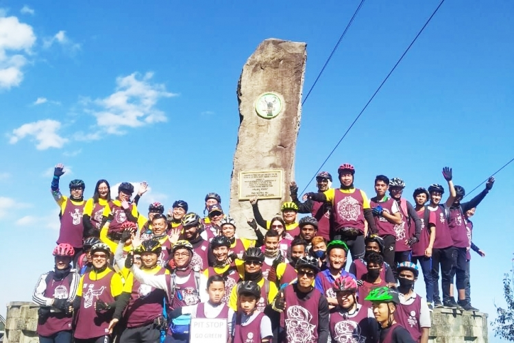 8th Annual Hornbill Cycle 'rallies' to Go-green
