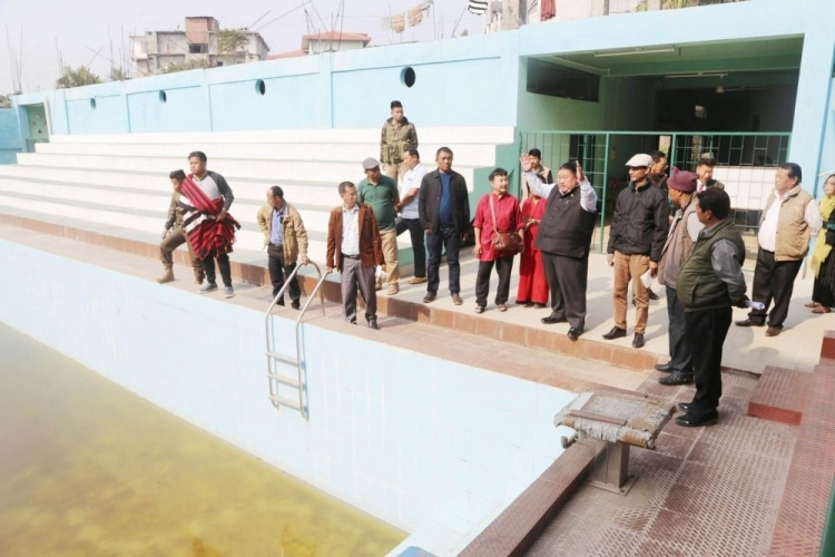 0ver 15 years in the making, swimming pool inaugurated finally