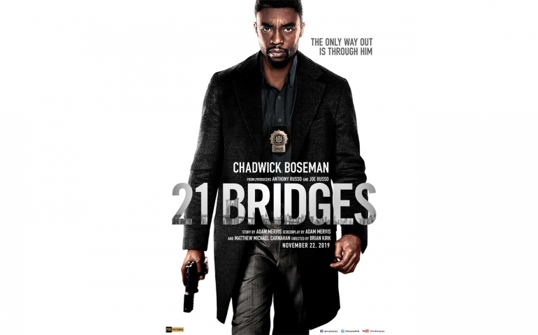 '21 Bridges' is slick but generic