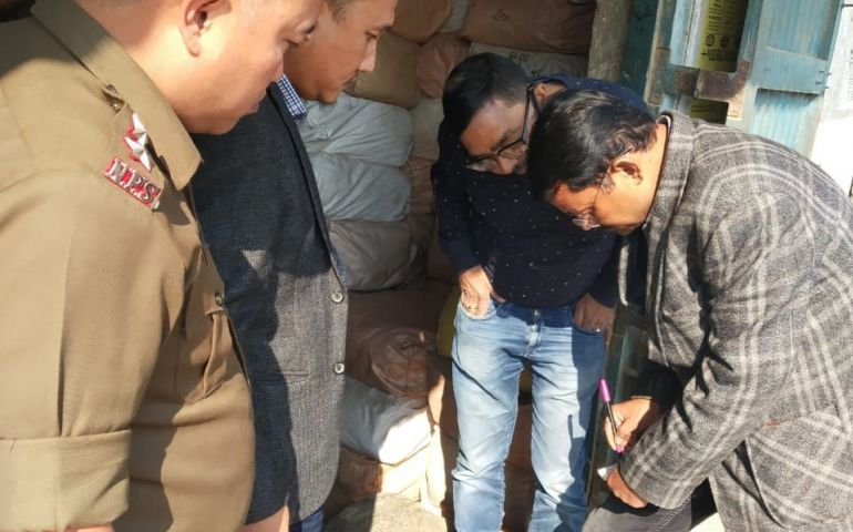 Dimapur price review sub-committee inspects godowns