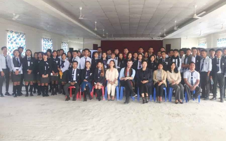 C-Edge College students discuss 'Frontier & Nagaland'
